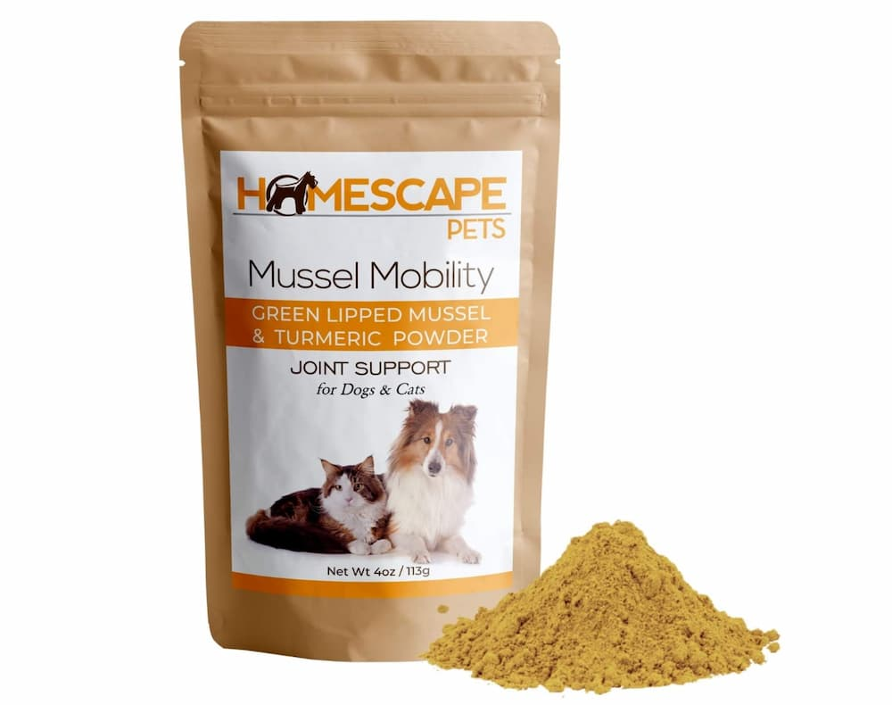Homescape Pets Green Lipped Mussel & Turmeric