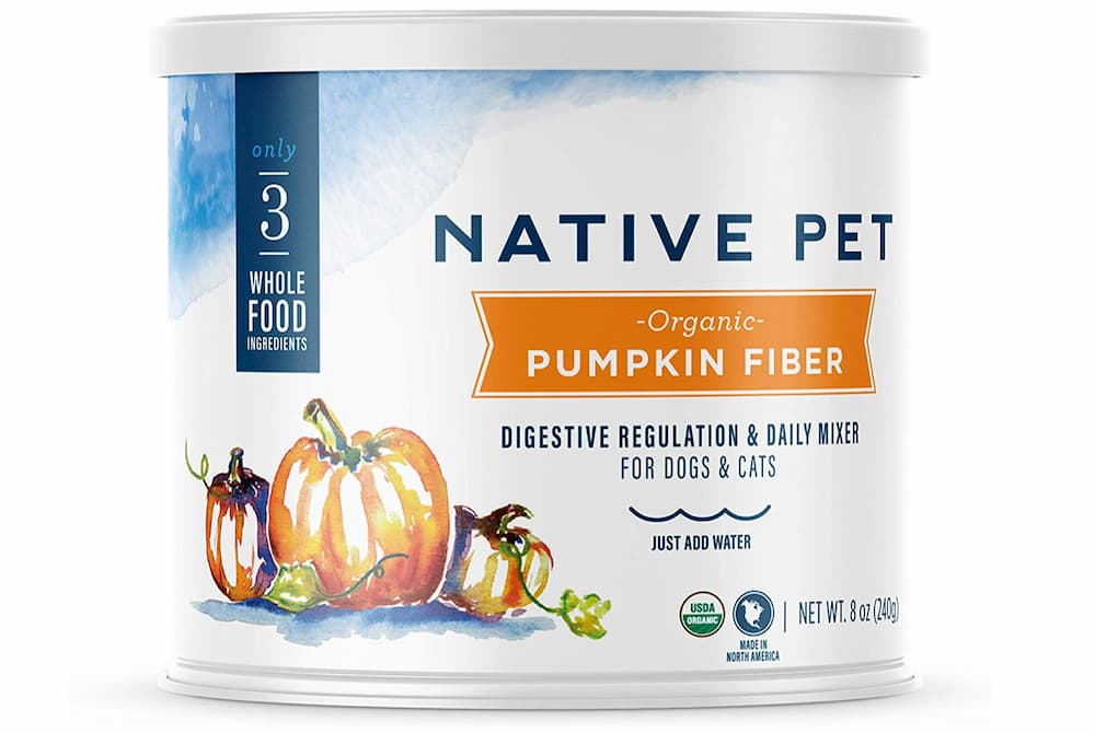 Native Pet Organic Pumpkin Fiber for Dogs