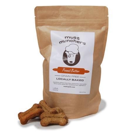Mutt Munchers peanut butter dog treats