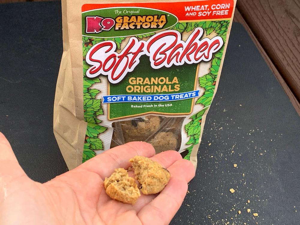 K9 Granola dog treats