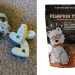Chia infused pumpkin treats