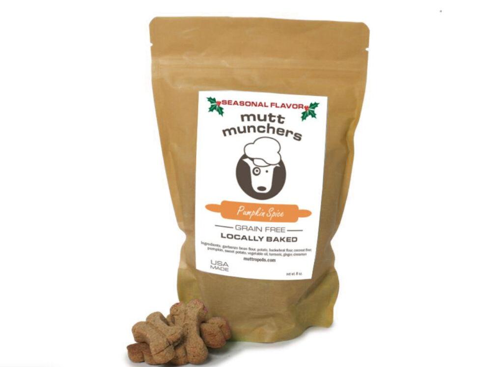 Pumpkin spice Mutt Munchers from Muttropolis