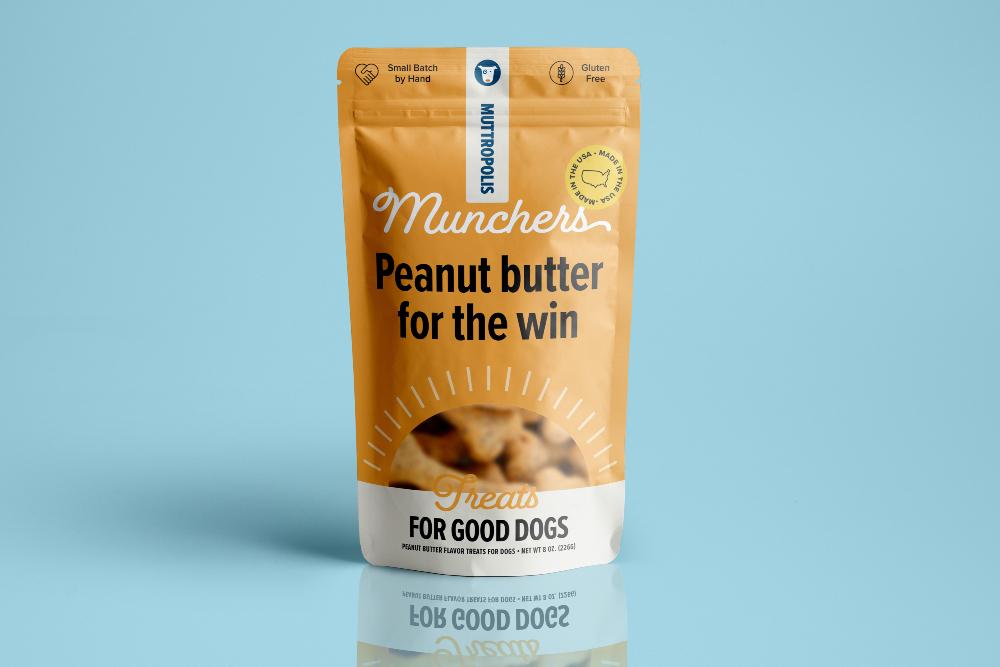 Peanut Butter Mutt Munchers