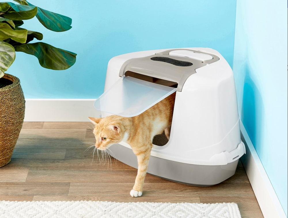 Frisco corner cat litter box