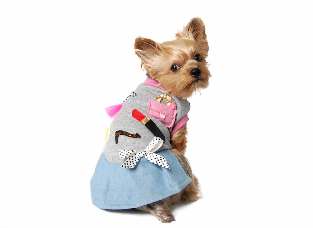 French inspired dog dress