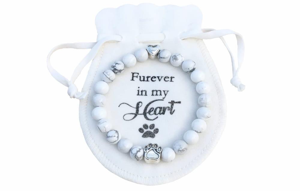 Dog memorial bracelet