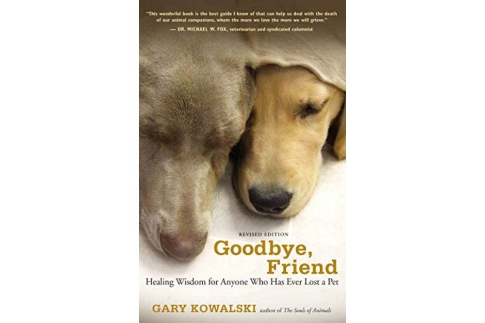 Dog grief book