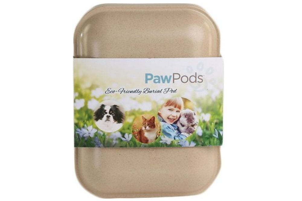 Eco friendly pet burial container