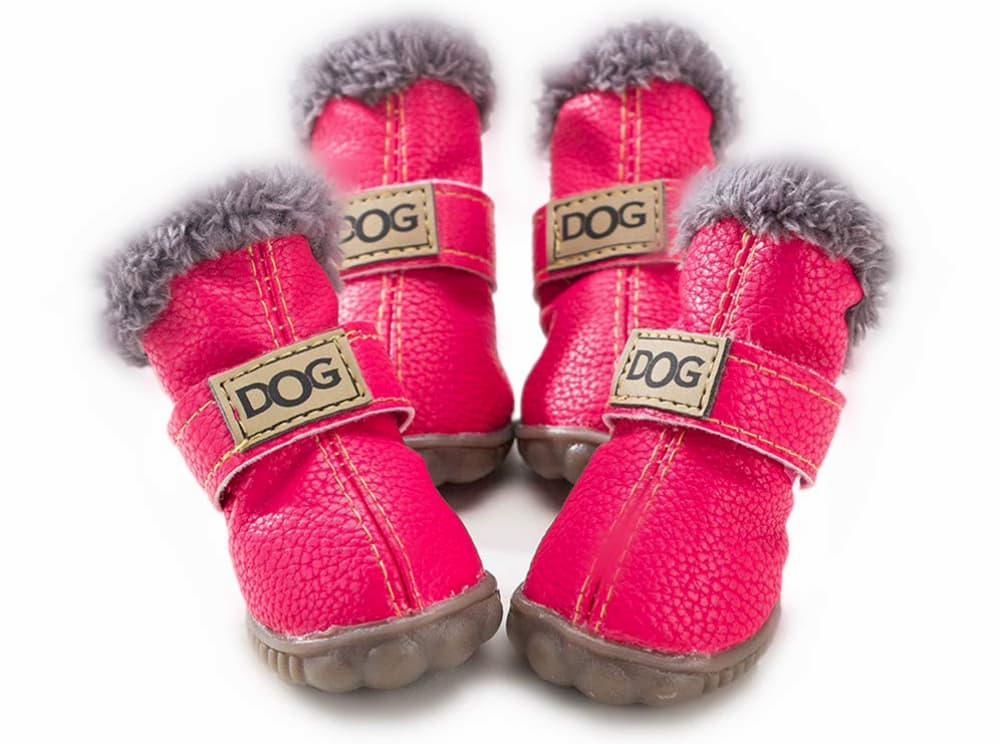 PIHAPPY Warm Winter Little Pet Dog Boots