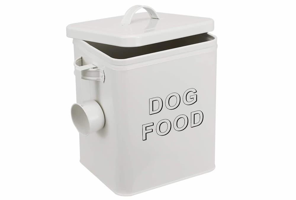 Morezi Dog Treat and Food Storage Tin