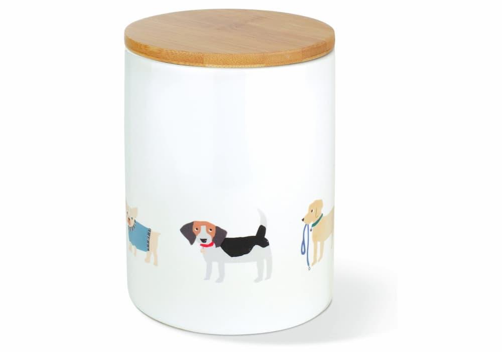 Fringe Studio Happy Breeds Ceramic Dog Treat Jar