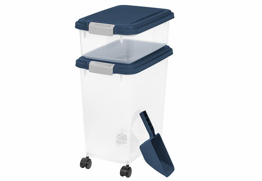 IRIS pet food storage container