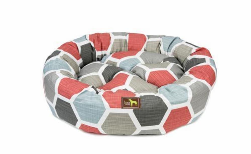 Luca for Dogs Hexagon Nest Dog Bed