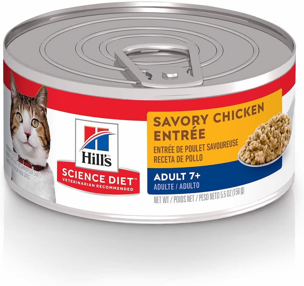 Hills Science Diet Wet Cat Food For Senior Cats