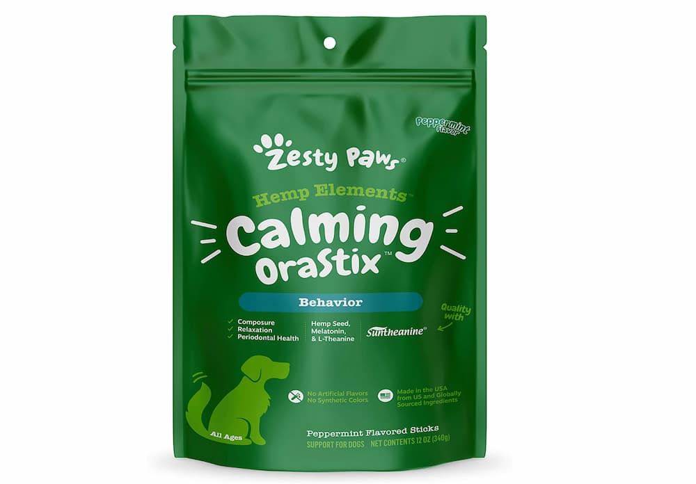 Zesty Paws Hemp Elements Calming Orastix