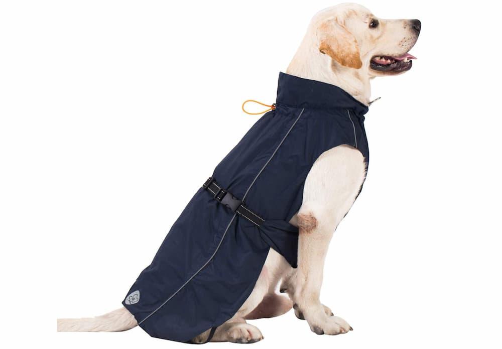 Pro Plums Adjustable Dog Raincoat