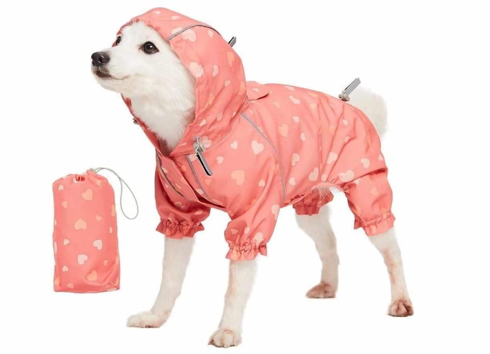 Blueberry Packable Dog Raincoat