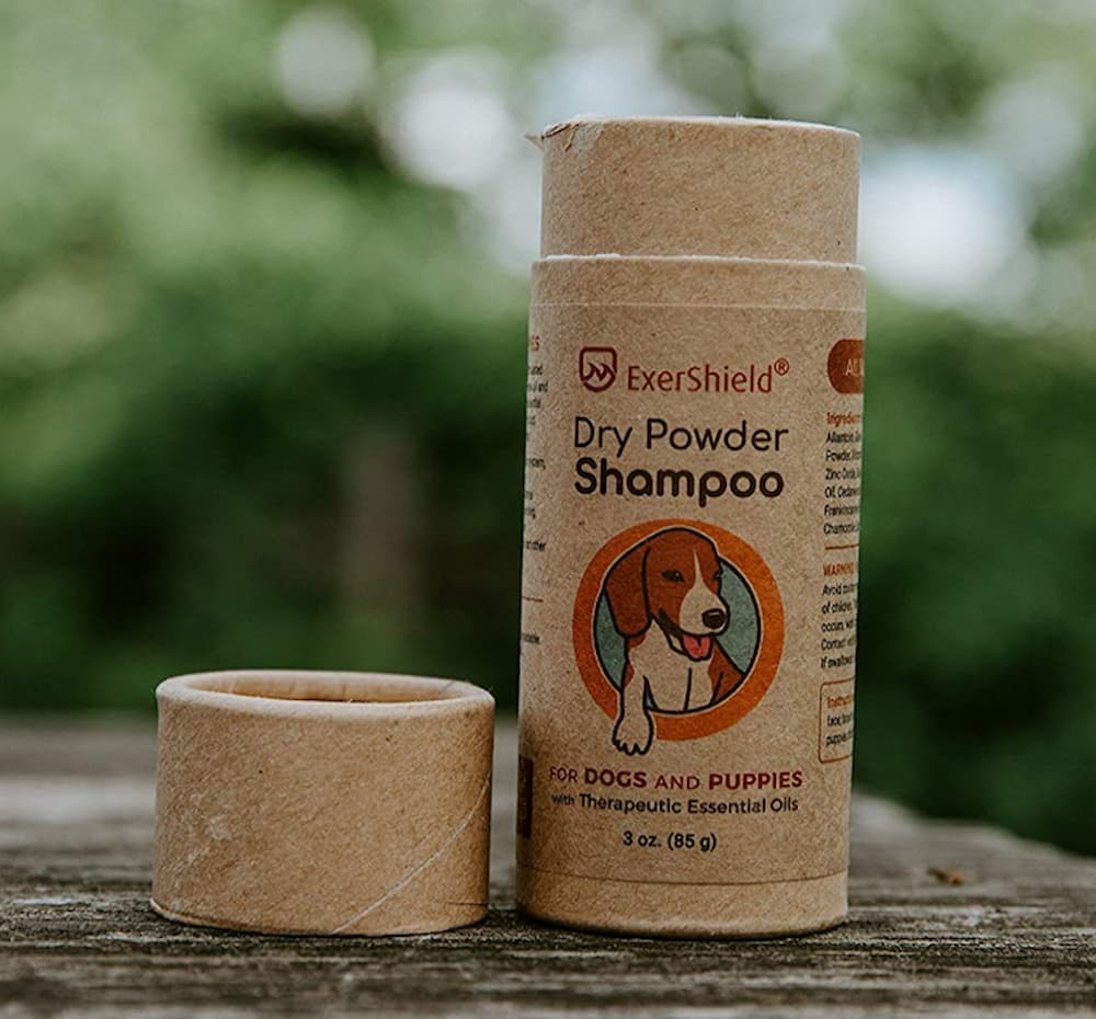 ExerShield Dry Powder Shampoo for Dogs