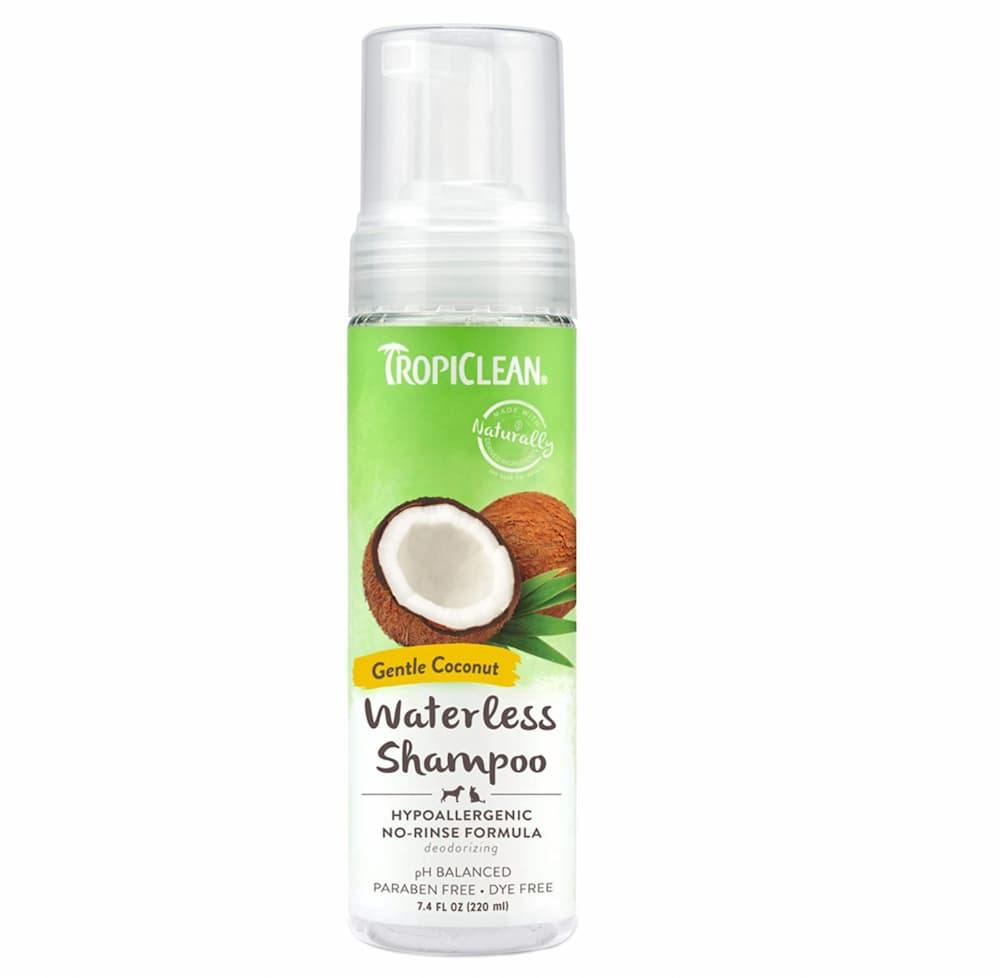 Tropiclean Waterless Shampoo for Pets