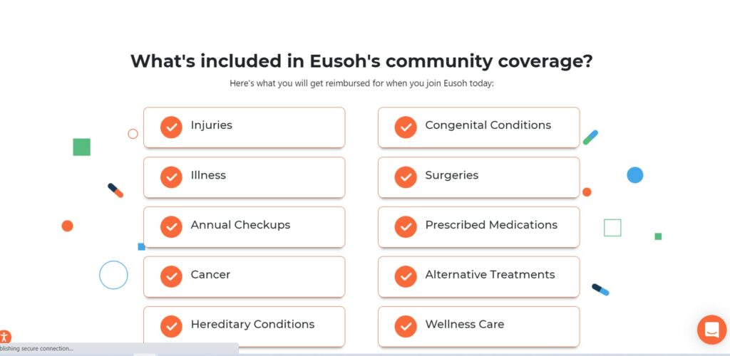 Eusoh chart of services