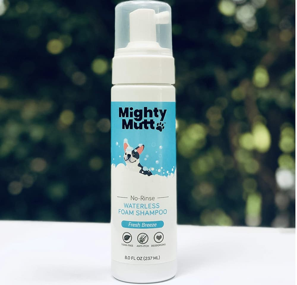 Mighty Mutt Hypoallergenic Waterless Shampoo for Dogs