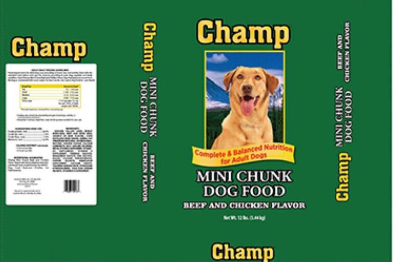 Champ Mini Chunk Dog Food
