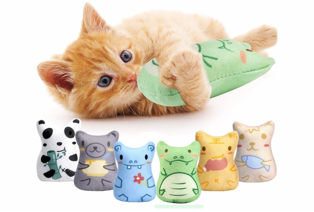Malmed Catnip Chew Toy Play Set