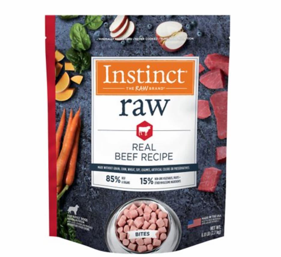 Instinct Raw Frozen Dog Food