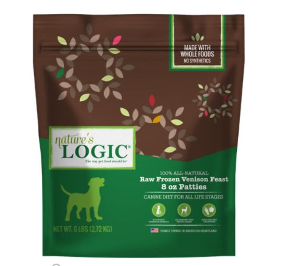 Nature's Logic Frozen Dog Food