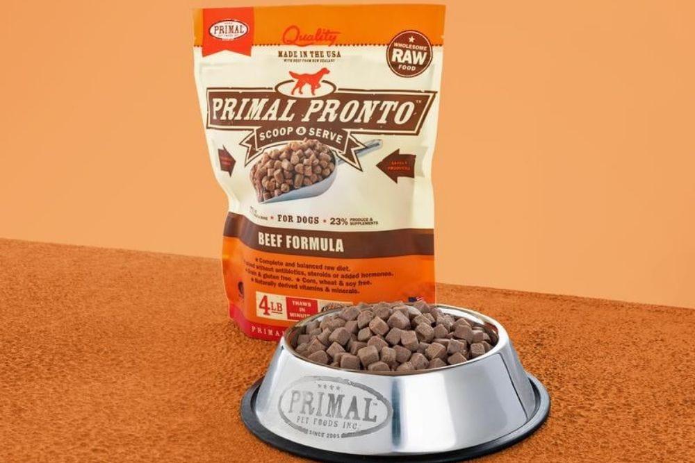 Primal Frozen Dog Food