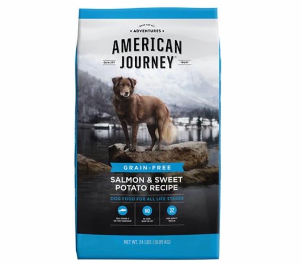 High-protein dog food formula: American Journey