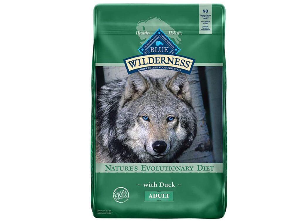 High-protein dog formula: Blue Buffalo wilderness