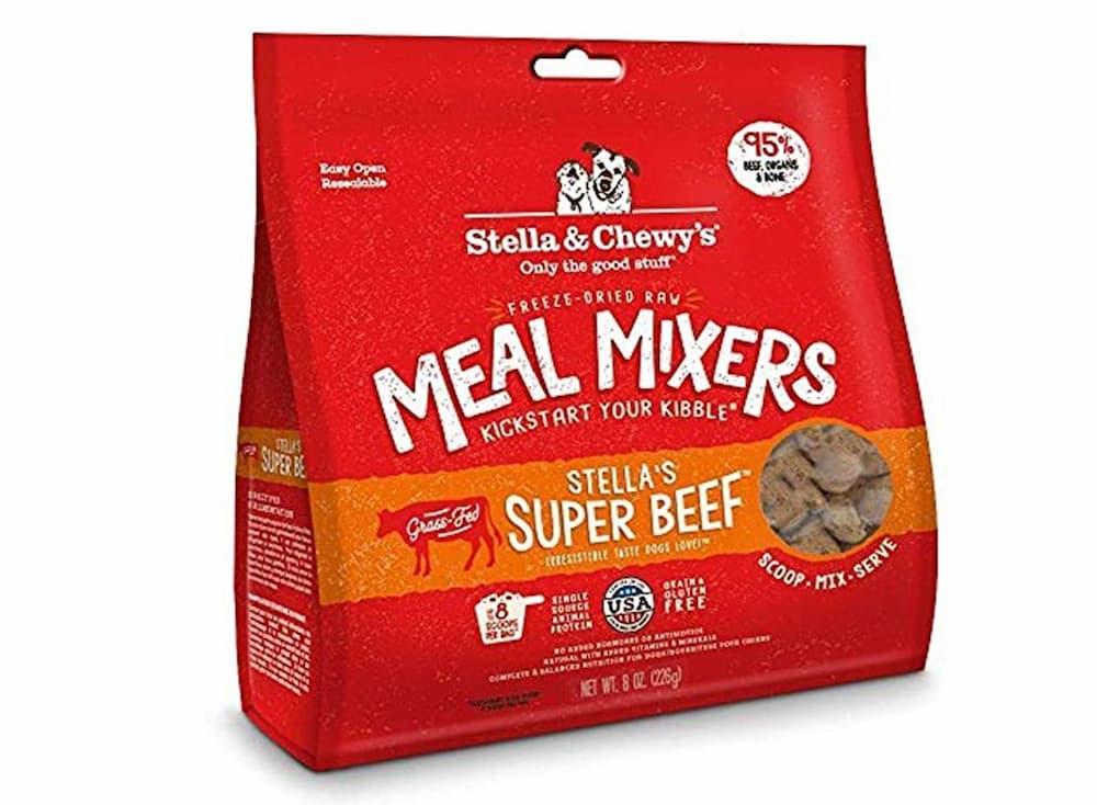 Bag of meal mixers of super beef
