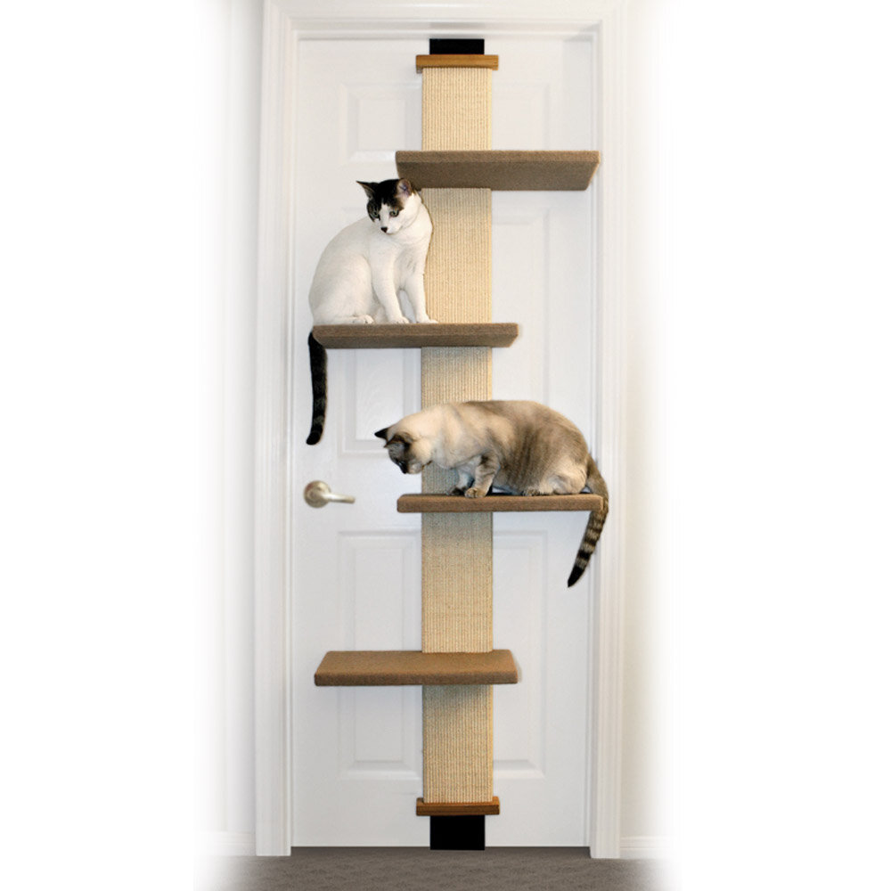 Over the door cat tree