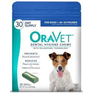 Oravet dental chews