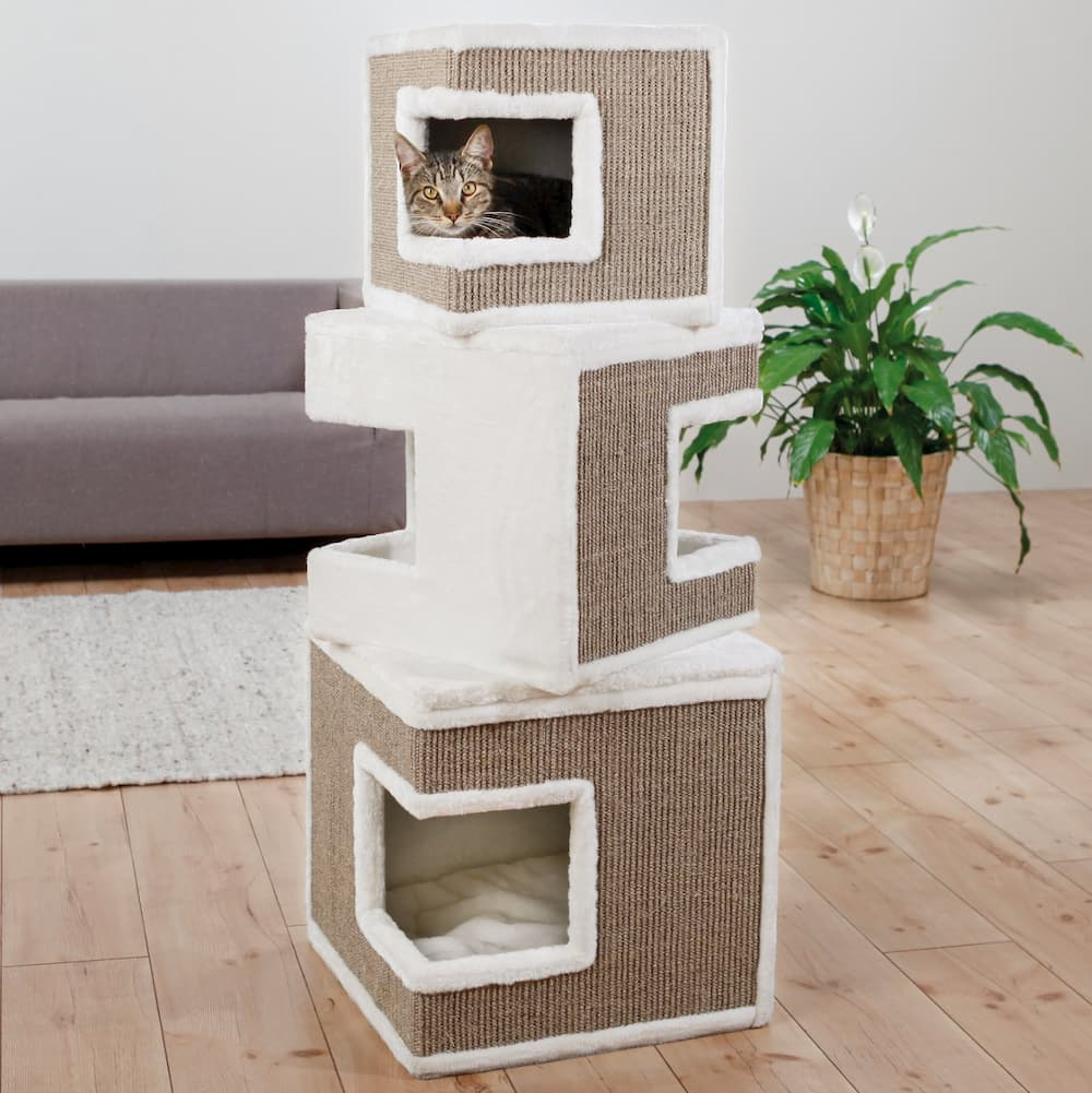 faux fur cat tree