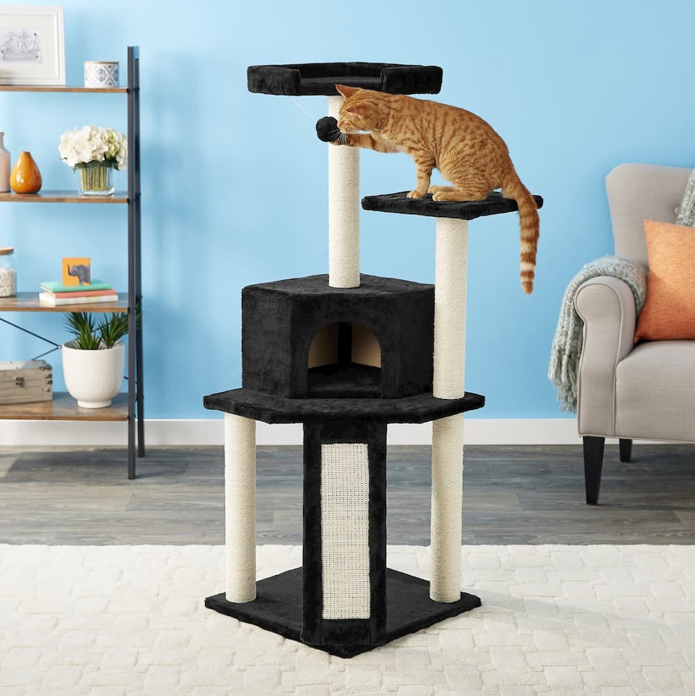 Frisco Faux Fur Cat Tree