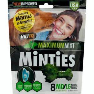 VetIQ Mintiest dental chews